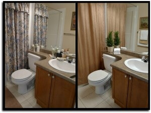 Bathroom Staging!