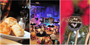 The Blue Rooster – American Southern Food and Feel Good Music